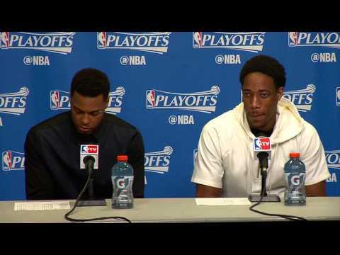 Raptors Post-Game: Kyle Lowry & Demar Derozan - May 7, 2016