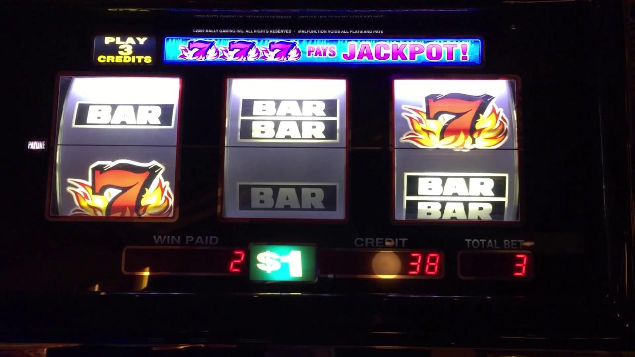 blazing 777 slot machine