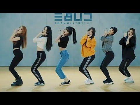 (G)I-DLE ((여자)아이들) 'Senorita'[DANCE PRACTICE MIRRORED]