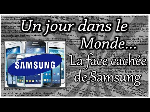 LA FACE CACHÉE DE SAMSUNG