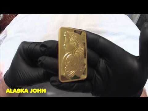 5 OUNCE PAMP SUISSE GOLD BAR