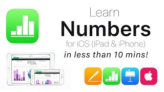 Gambar cover Complete Numbers for iOS Tutorial - Full quick class/guide + EXTRAS! iPad & iPhone