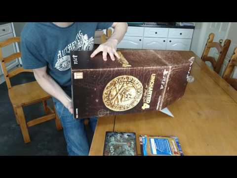 Uncharted 4: A Thief's End, Collector's Edition Unboxing + Limited Edition Poster 1/5000