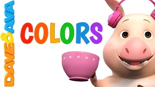 Colors Song | Nursery Rhymes and Baby Songs from Dave and Ava