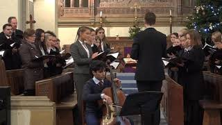 Bromsgrove School - Members of the Chamber Choir - December 2018