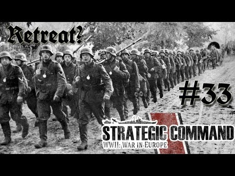 Strategic Command WWII: War in Europe - Germany 33 Retreat o