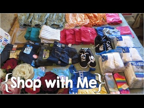 1 Day/3 Trips into Walmart ║ Summer Clothes Haul│Large Family Shop with Me │April 2017