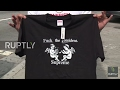 USA: Hundreds queue as 'f**k the president' T-shirt goes on sale at Supreme