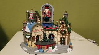 Lemax Holiday /& Christmas Collection Ludwigs Wooden Nutcracker Factory