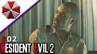 Resident Evil 2 Remake #02 - Im Polizeirevier - Let's Play Deutsch thumbnail