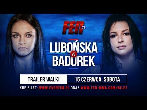FEN 25: Lubońska VS Badurek - Trailer