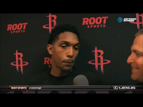 Lou Williams' first interview as a Houston Rocket