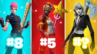 The Most TRYHARD Skin Combos In Fortnite (Sweaty Skin Combos)