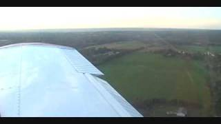 Piper Cherokee Landing Griffiss Airfield Rome, NY