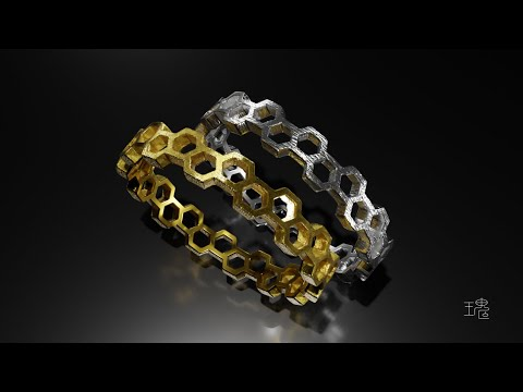 Blender 3D Jewelry Design Tutorial 024 Time-lapse thumbnail