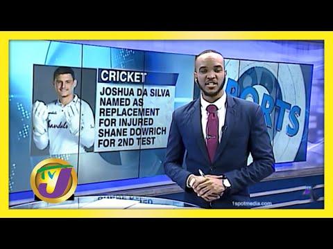 Joshua Da Silva Replaces injured Shane Dowrich | TVJ Sports News