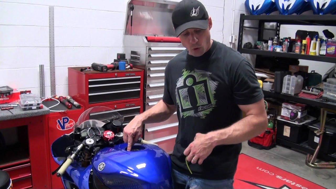 Driven Racing Fuel Cap Install and Review from SportbikeTrackGear com