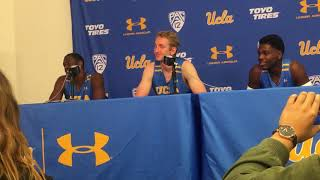 Prince Ali, Thomas Welsh and Aaron Holiday discuss LiAngelo Ball leaving UCLA (Dec. 5, 2017)