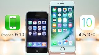 iPhone OS 1.0 vs iOS 10.0 - What's Changed in 9 Years?