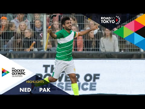 Netherlands Vs Pakistan | FIH Hockey Olympic Qualifiers | Men's | Match 1