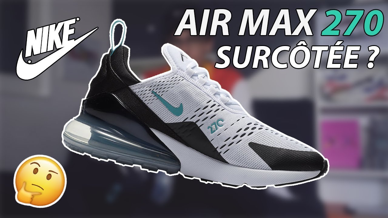 chaussure homme nike air max 270 fausse