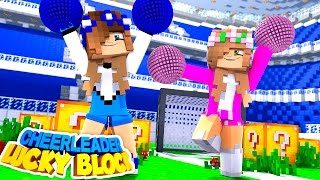Video LITTLE CARLY BECOMES A CHEERLEADER AND GOES HEAD TO HEAD WITH LITTLE KELLY!! (Minecraft Lucky Block) download MP3, 3GP, MP4, WEBM, AVI, FLV November 2017