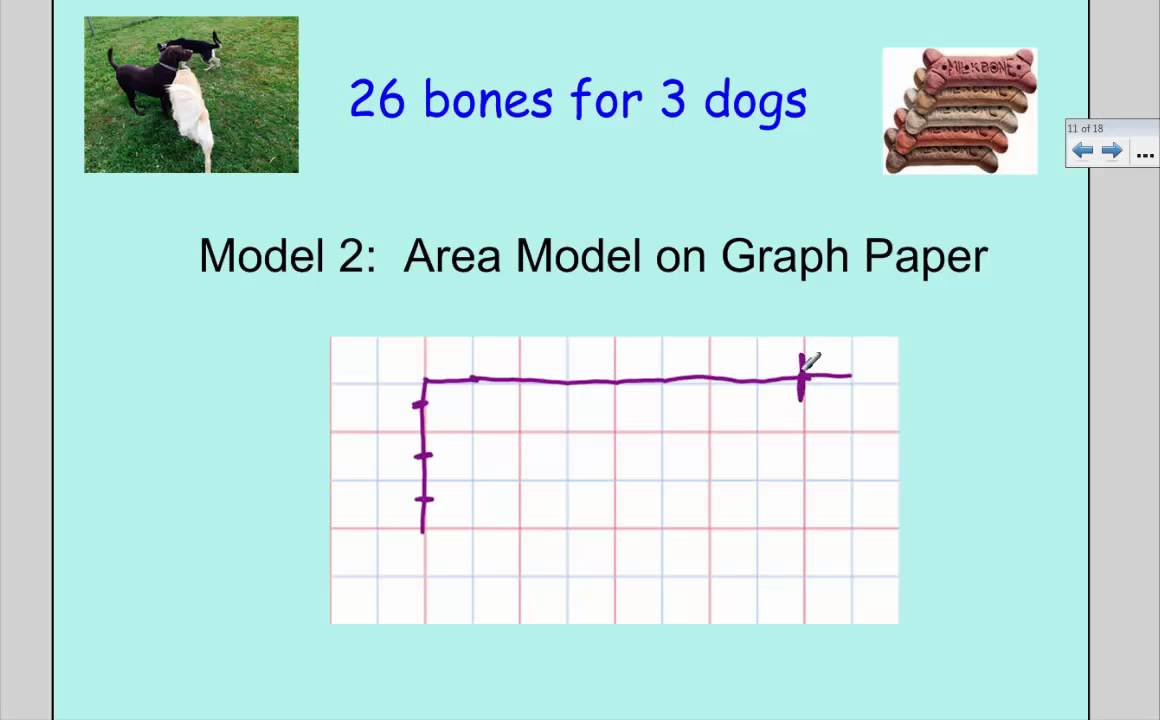 ... with a Remainer Models: Array, Area Model, Place Value Chart - YouTube