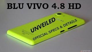 "BLU Vivo 4.8 HD Official - (Quadcore, 1GB RAM, 4.8"" 720p, 8MP, Android 4.2, 2000mAh & More!)"