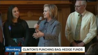 It's Hillary Vs. Hedge Funds: Who Will Win?