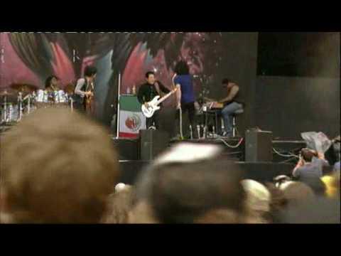 The Mars Volta Live @ Rock Werchter Festival Belgium 2009 - Goliath (PRO)