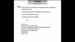 Goethe Zertifikat A1 (Schreiben): Start Deutsch 1||Exam Analysis and TIPS