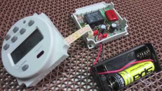 เปลี่ยนแบตเตอรี่เครื่องตั้งเวลาดิจิตอล (DIY By ช่างเป๋เมกเกอร์) Video