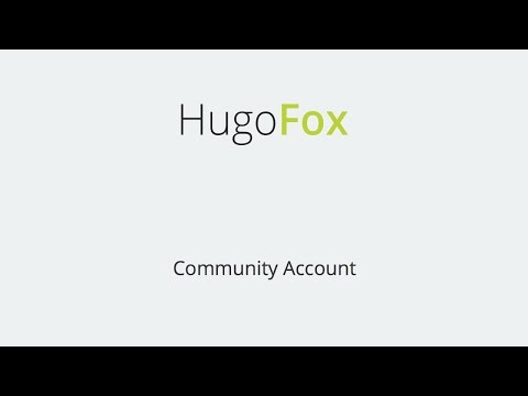 Building a free Community website with HugoFox.com