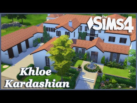 The Sims 4 - Khloe Kardashian House Build (Part 1)