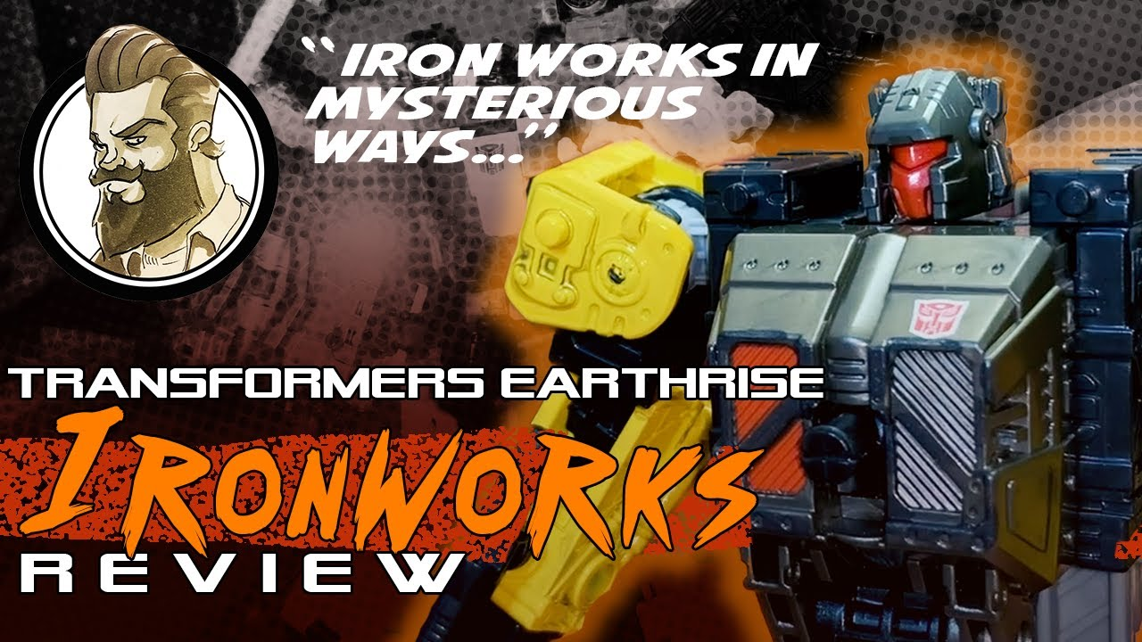 Transformers Earthrise Ironworks Review by Ham-Man - Iron Works in Mysterious Ways