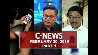 UNTV: C-News (February 20, 2019) PART 1