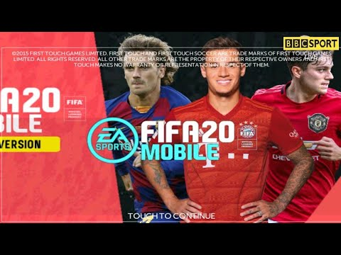 First touch soccer Mod Fifa mobile (300 MB) update transfer