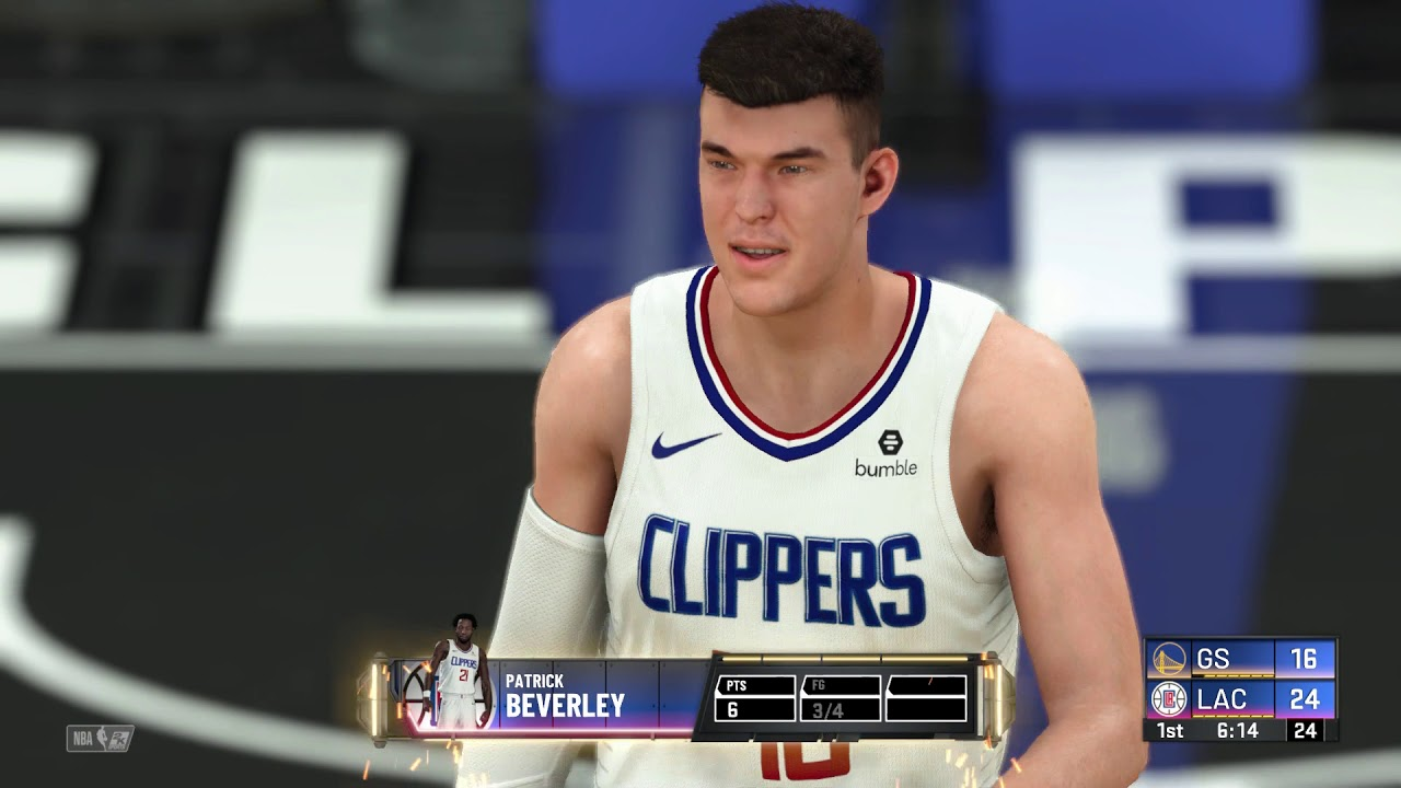 NBA 2K20 - Golden State Warriors vs Los Angeles Clippers ...