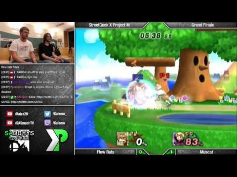 SGX 2015 - Flow Rats (Sheik/Fox/Wolf) vs Muscat (Zelda/Peach/R.O.B.) - Grand Finals - PM