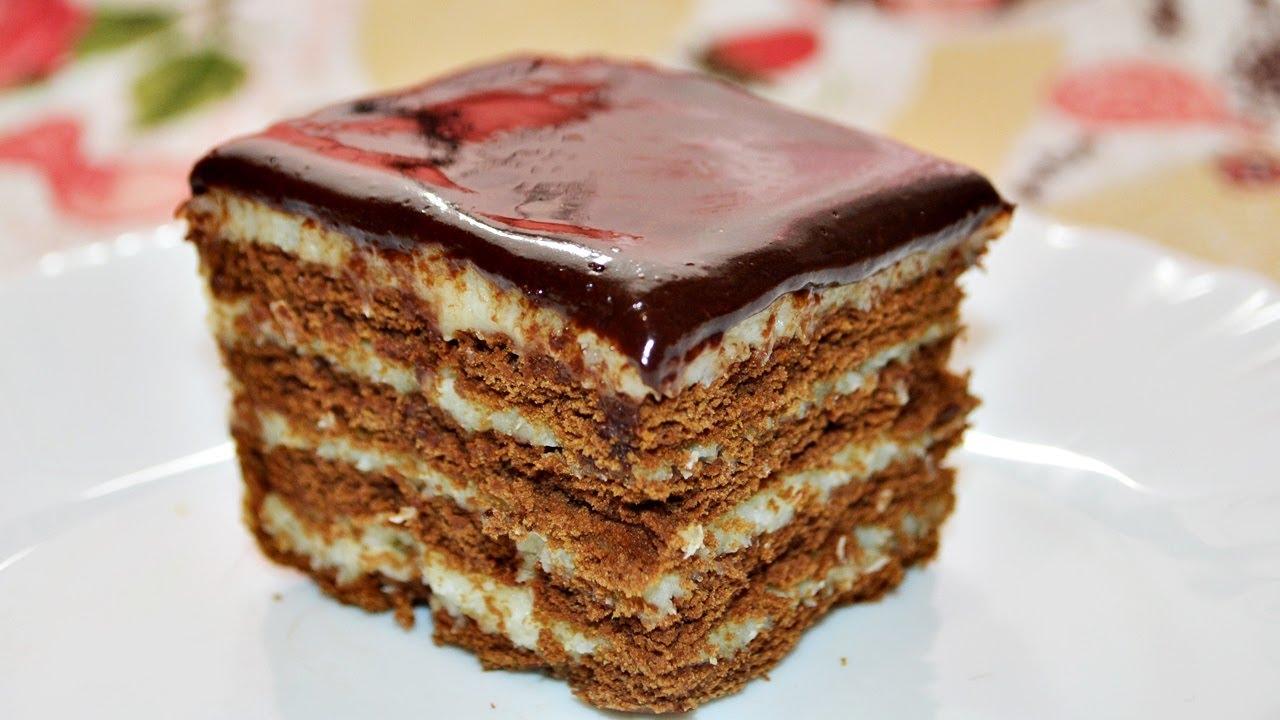 Быстрый и недорогой торт
