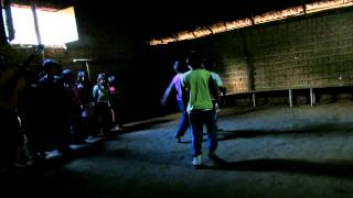 Indian children sing in Tupi Guarani