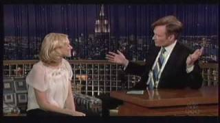 naomi watts on the late night with conan obrien on nbc november 30 2005
