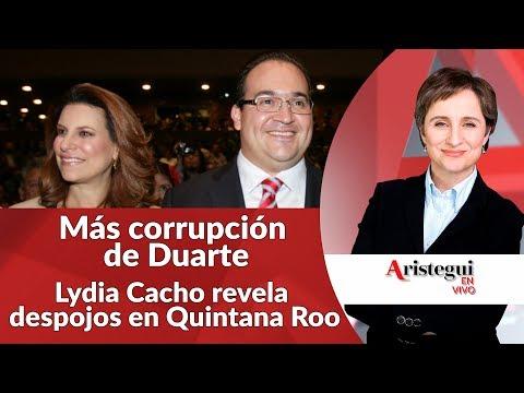 #AristeguienVivo 24 de Julio: más corrupción de Javier Duarte, despojo de Borge en Quintana Roo