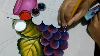 Como pintar uvas – Dicas de pintura para iniciantes