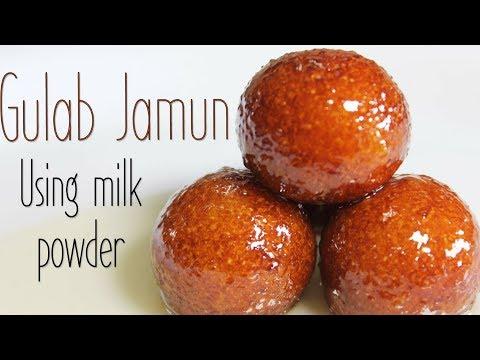 Gulab Jamun Using Milk Powder | Most Popular Indian Dessert Recipe | Kanaks Kitchen