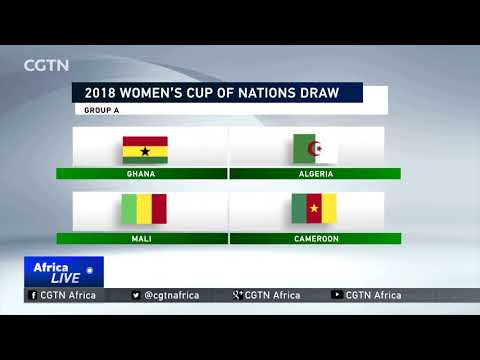 Ghana hosts first game of the  2018 Africa Women's Cup of Nations