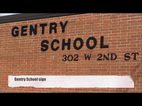 Photo History - Gentry Intermediate School