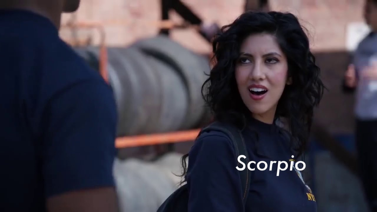 Image result for brooklyn 99 as zodiac signs