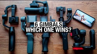 Smartphone Gimbal Shootout - Osmo Mobile 2 vs Movi Cinema Robot vs Zhiyun Smooth 4