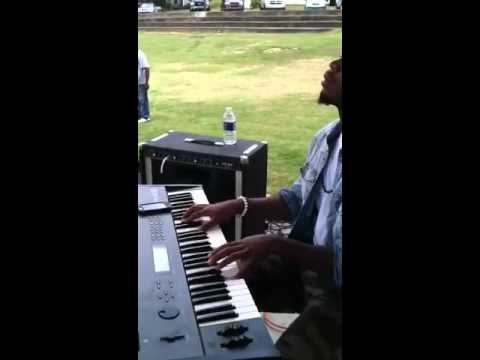 Aaron Pettigrew and Jay playin at Forrest Park  praise in t